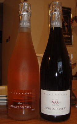 Jacques Selosse VO and Rose