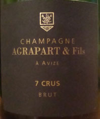 Champagne Agrapart NV Les 7 Crus