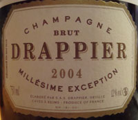 Drappier Millesime Exception 2004