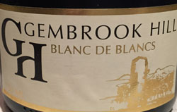 Gembrook Hill Blanc de blancs Yarra Valley