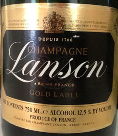 Lanson Gold Label 1996