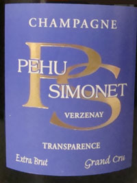 Champagne Pehu-Simonet trasparence