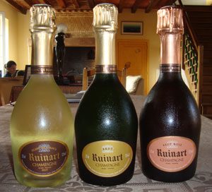Ruinart Champagne 3 pack