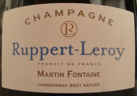 Ruppert-Leroy Martin-Fontaine Brut Nature NV