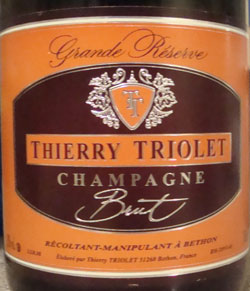 Thierry Triolet Grande Reserve Champagne