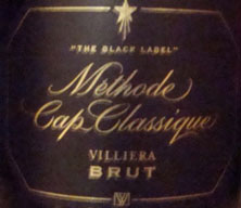 "Villiera Brut ""The Black Label"" 2007"
